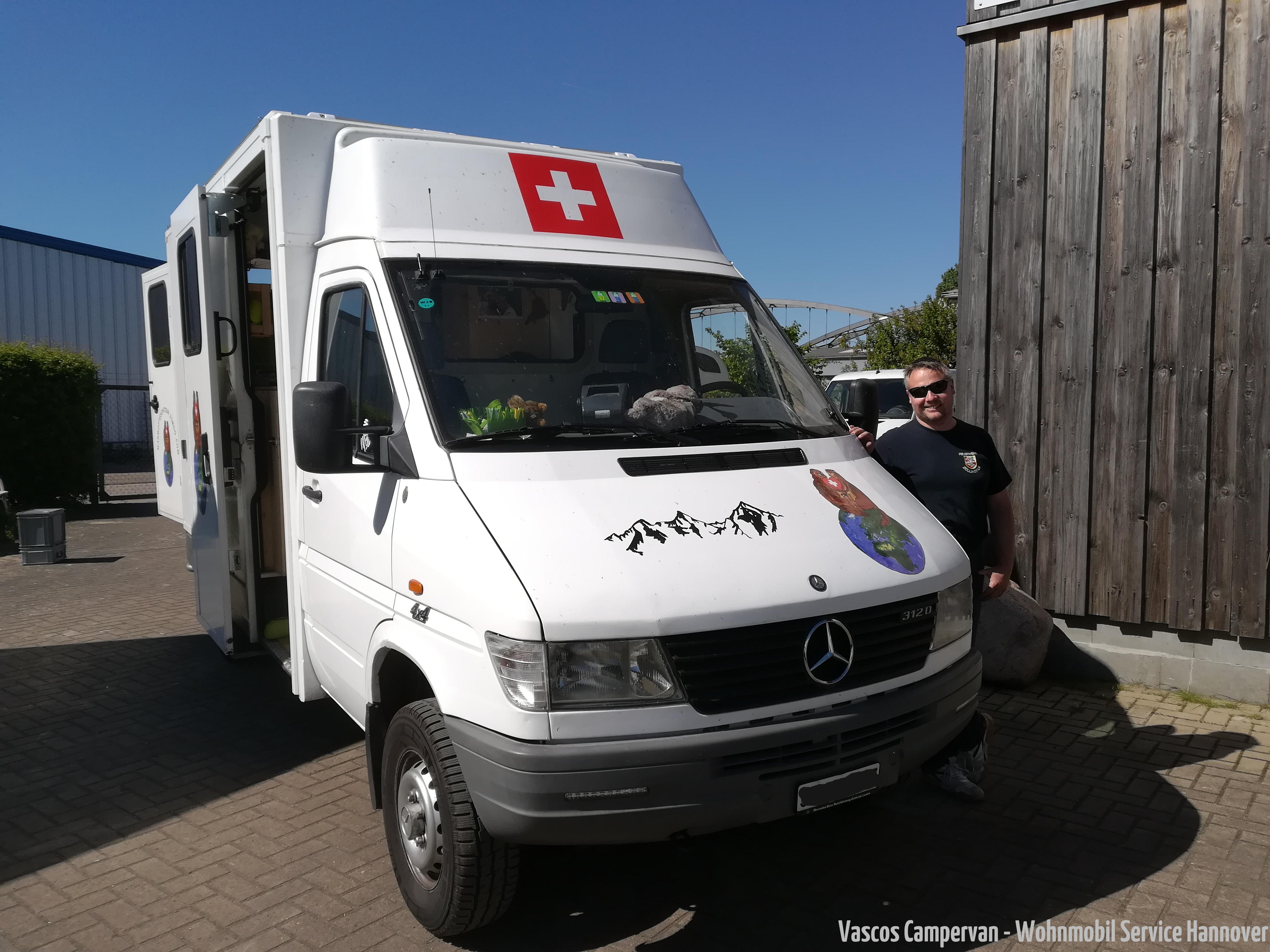 Sprinter Krankenwagen coversation Schweiz